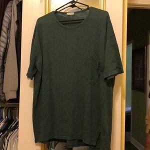 Tops - Oversized pocket T-shirt (made in Korea)